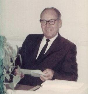 Donald E. Baxter, Founder Baxter Burial Vault