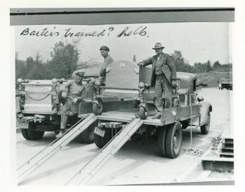 Baxter Burial Vault History
