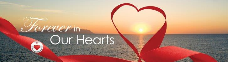 Legacy Images: Forever Heart Ribbon